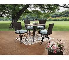 High top patio furniture sets Plan