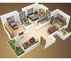 Home design plans 3d Plan