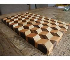 Homemade cutting board.aspx Plan