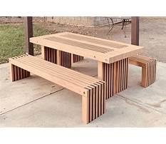 Homemade deck furniture.aspx Plan
