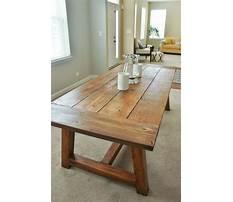 Homemade dinner table.aspx Plan