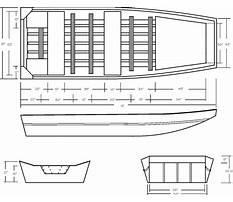 Homemade flat bottom boat plans Plan