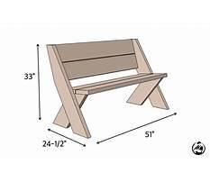 Homemade outdoor benches.aspx Plan