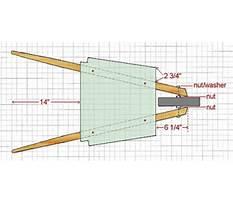 Homemade power wheelbarrow Plan
