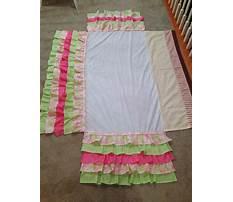Homemade ruffle crib skirt Plan