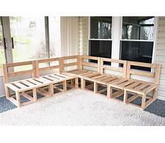 Homemade wood furniture ideas Plan