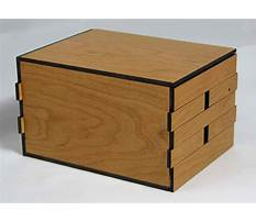 Homemade wooden puzzle box Plan