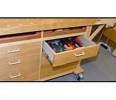 Homemade workshop drawers Plan