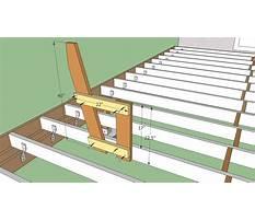 How do i build a deck bench Plan