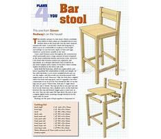 How do i make a bar stool Plan