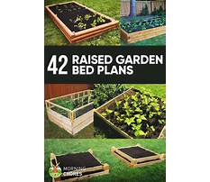 How do you build a raised garden bed Plan