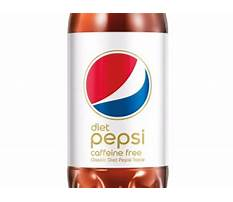 How many calories in a caffeine free diet pepsi have Plan