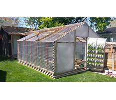 How to attach greenhouse plastic to wood frame Plan