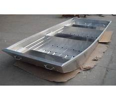 How to build a aluminum flat bottom boat Plan