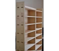 How to build a bookshelf out of plywood Plan