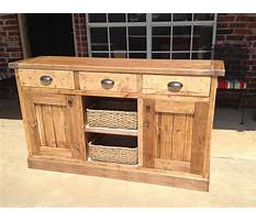 How to build a buffet table Plan