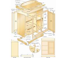 How to build a changing table dresser Plan