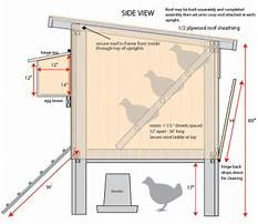 How to build a chicken coop for cold climates.aspx Plan