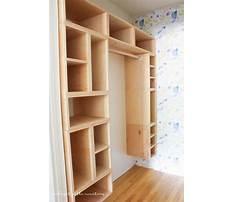 How to build a closet organizer from scratch.aspx Plan