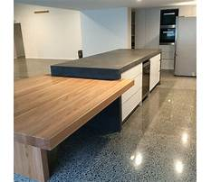 How to build a concrete benchtop Plan