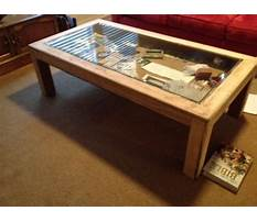 How to build a display end table Plan