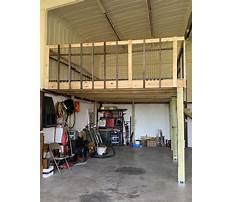 How to build a garage mezzanine Plan