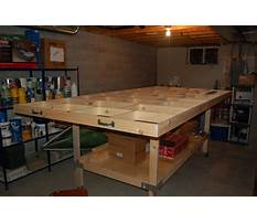 How to build a model train table plans Plan
