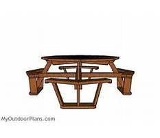 How to build a octagon picnic table.aspx Plan