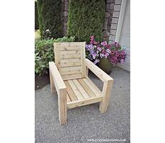 How to build a patio chair diy outdoor chair build Plan