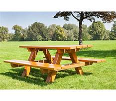 How to build a picnic table this old house Plan
