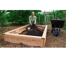 How to build a raised bed garden google Plan