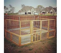 How to build a raised bed garden with screen Plan