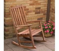 How to build a rocking chair from scratch Plan