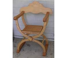How to build a roman chair Plan