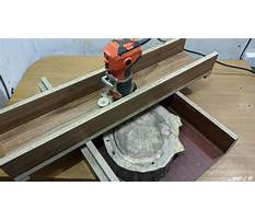 How to build a router jig Plan