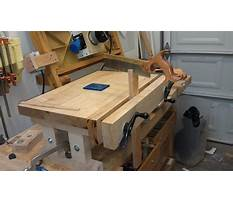 How to build a shop bench.aspx Plan