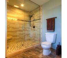 How to build a shower without door Plan