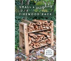 How to build a simple wood rack Plan