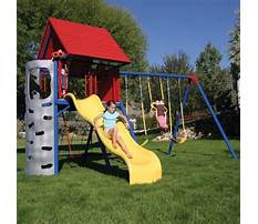 How to build a swing set frame.aspx Plan