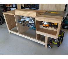 How to build a table saw Plan