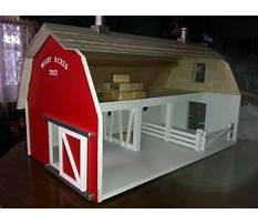 How to build a toy barn Plan