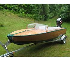 How to build a toy speed boat Plan