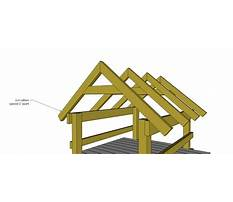 How to build a tractor shed.aspx Plan