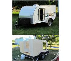 How to build a travel trailer camper Plan
