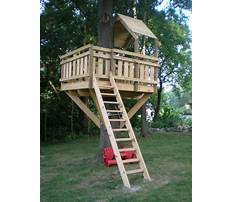 How to build a tree house model Plan