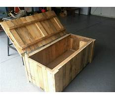 How to build a wood pallet chest Plan