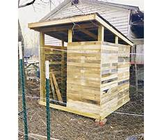 How to build a wood pallet chicken coop Plan