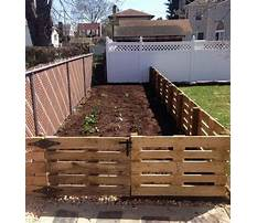How to build a wood pallet fence Plan