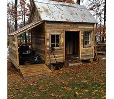 How to build a wood pallet shed Plan