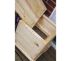 How to build a wood worm box Plan
